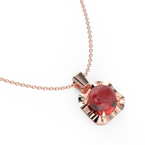 Fiesty Red Necklace