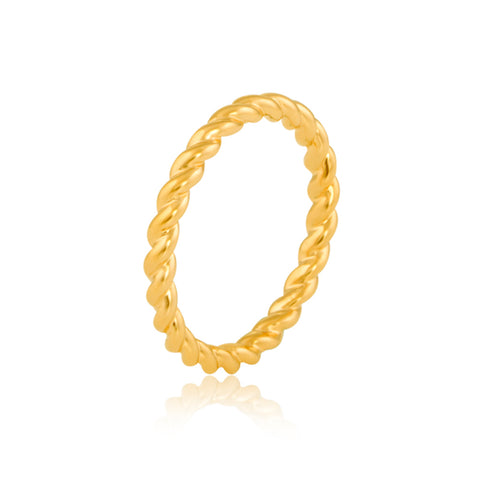 "Buy Twisted Band Rings | Twisted Eternity Band | ""9 to 9"" Office Wear 