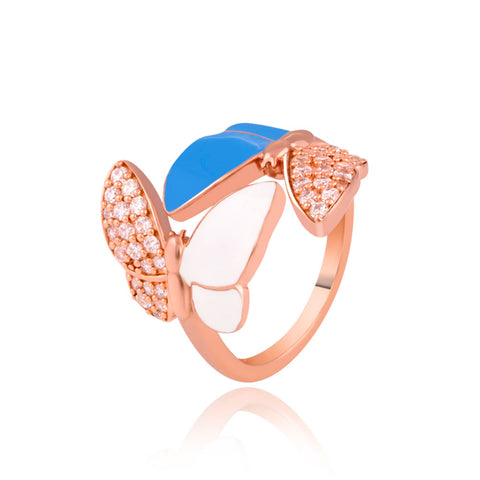 Butterflies Stack Ring