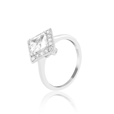 Buy Majestic Multi-faceted Ring from Talisman World. Find a wide range of sterling silver rings, Gifts for Her, pure silver rings for women, 925 sterling silver rings, pure silver rings online, Sterling Silver wedding rings, sterling silver couple rings, silver rings online at Talisman World
