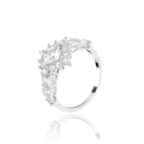 Buy Magnificient Mountain Ring from Talisman World. Find a wide range of sterling silver rings, Gifts for Her, pure silver rings for women, 925 sterling silver rings, pure silver rings online, Sterling Silver wedding rings, sterling silver couple rings, silver rings online at Talisman World