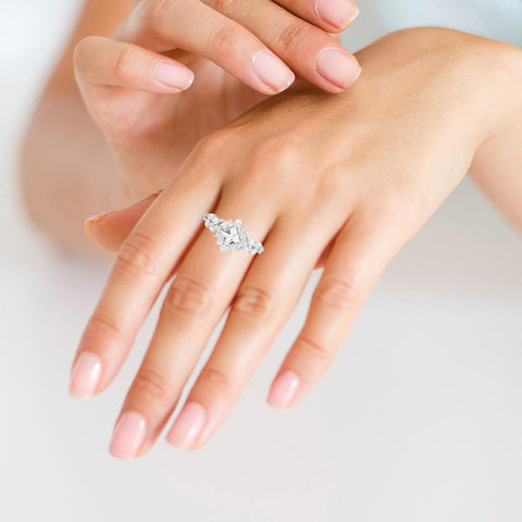 Pure Silver Rings For Ladies Online