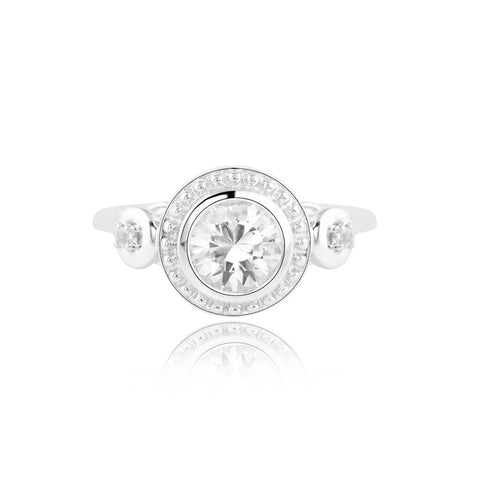Buy Field of Fortune Ring from Talisman World. Find a wide range of sterling silver rings, Gifts for Her, pure silver rings for women, 925 sterling silver rings, pure silver rings online, Sterling Silver wedding rings, sterling silver couple rings, silver rings online at Talisman World