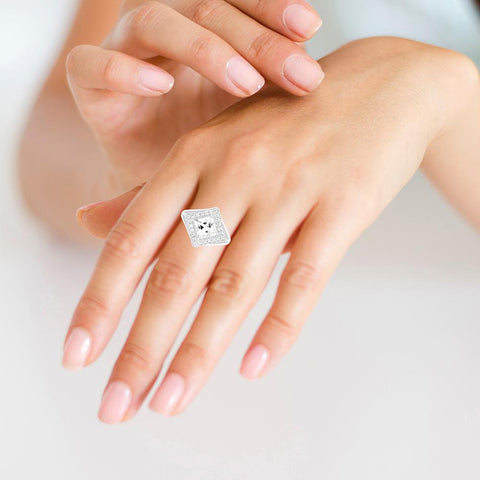 Triangle of Love Ring