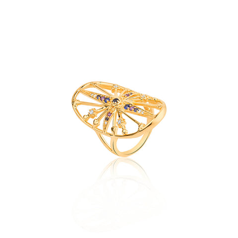 BoHo Royal Star Ring