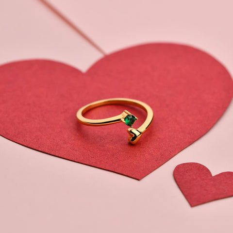 Valentine Gold Rings