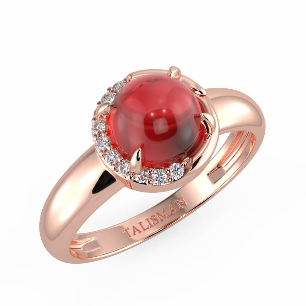 Sparkle Red Ring