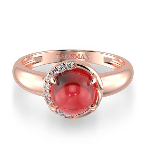 Ring Online | Sparkle Red Ring | Rings | TALISMAN