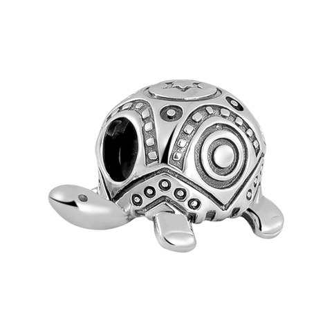 Terrific Tortoise Charm - Online shopping for Silver Bead Charms Online, Shop from the great collection of Bead Charms for Bracelets, Silver Dangle Charms, Silver charms for bracelets. Exclusive collection of Charms For Bracelets, bracelets for womens silver, charms for bracelets silver available. Free Shipping COD Available.