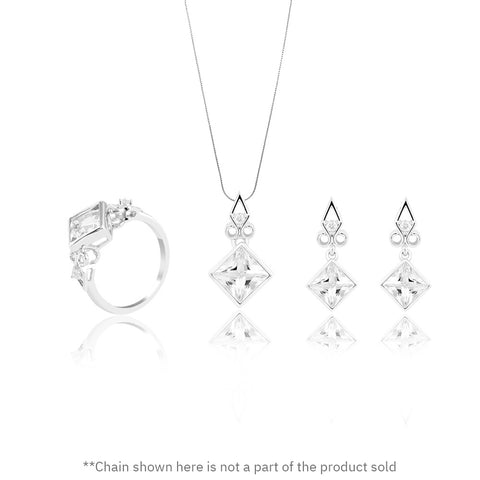 Buy Towering Cliff Set Online from Talisman World. Find a wide collection of Jewellery Sets, fashion jewelry sets, bridal jewelry sets, jewelry set online, jewelry set for wedding online at Talisman World.