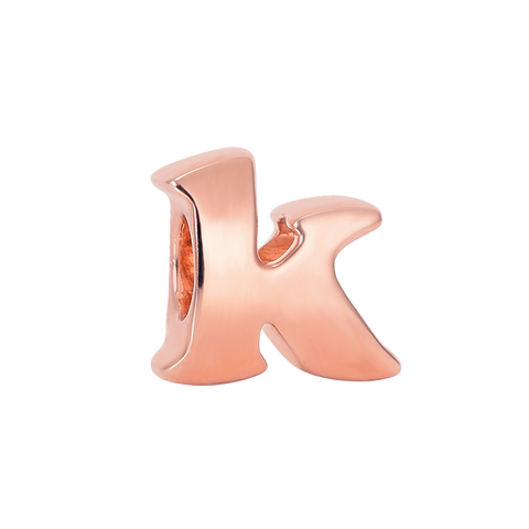 Vintage K Silver Charm,buy charms online in india,buy online silver charms,silver charms online in india,alphabets charms online in india