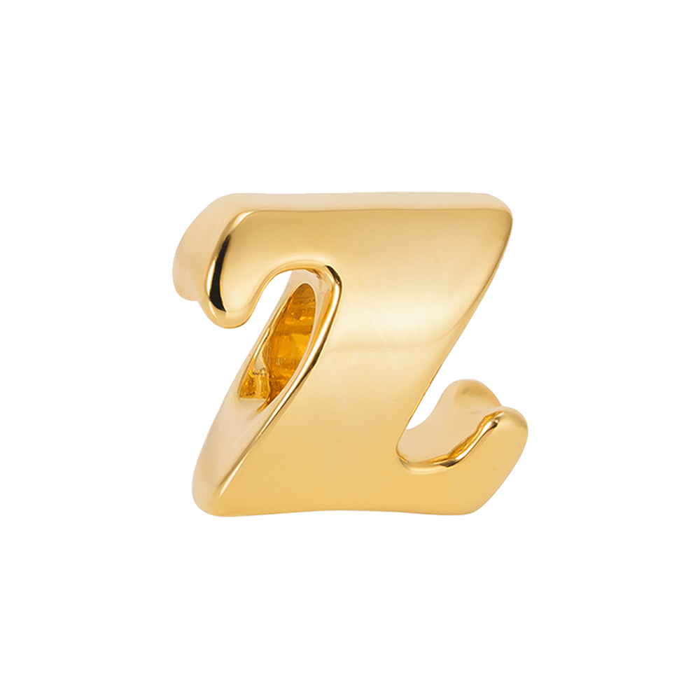 """Vintage Z"" Silver Charm - Online shopping for Silver Bead Charms Online, Shop from the great collection of Bead Charms for Bracelets, Silver Dangle Charms, Silver charms for bracelets. Exclusive collection of Charms For Bracelets, bracelets for womens silver, charms for bracelets silver available. Free Shipping COD Available."