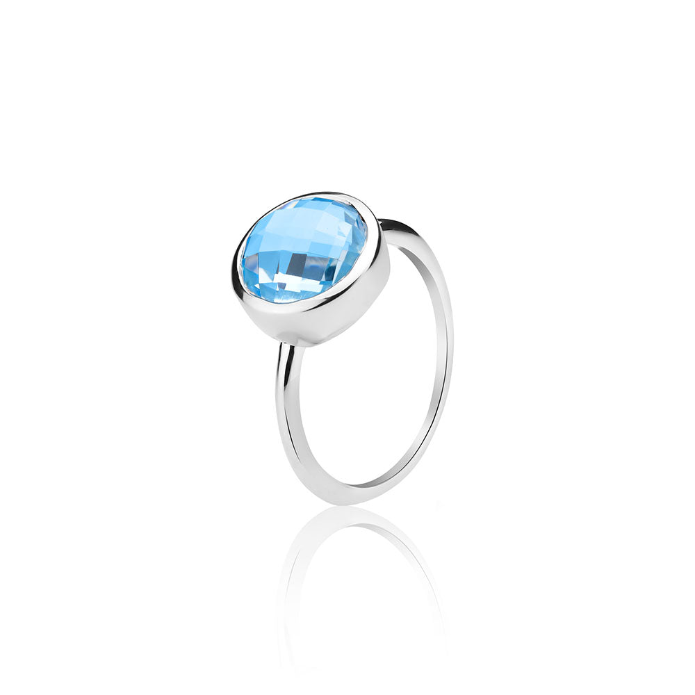 Demi Blue Ring