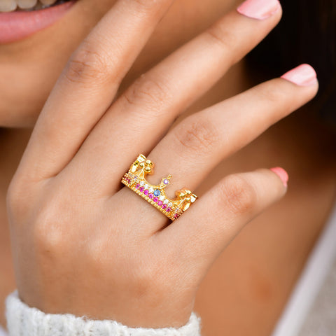 BoHo Crown Ring