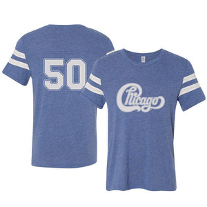 Chicago Blue Logo Tee