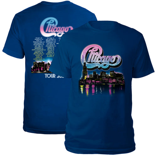 Chicago Skyline 2017 Tour Tee
