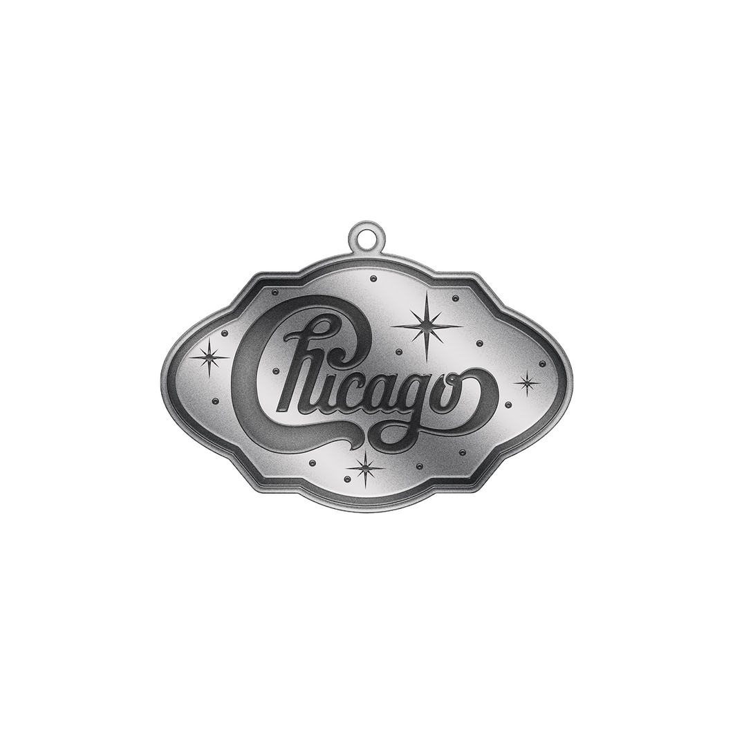 Chicago Pewter Ornament