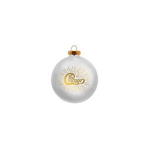 Chicago White Ornament