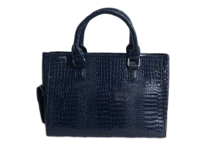 Navy large Wine Cooler Handbag
