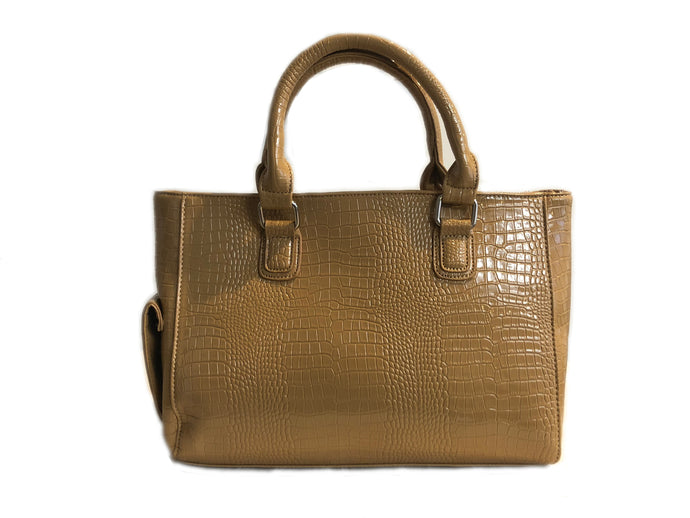 Tan Large Tote Wine cooler Handbag
