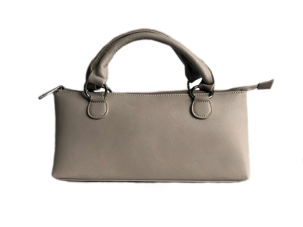 Silver Small Wine Cooler Handbag