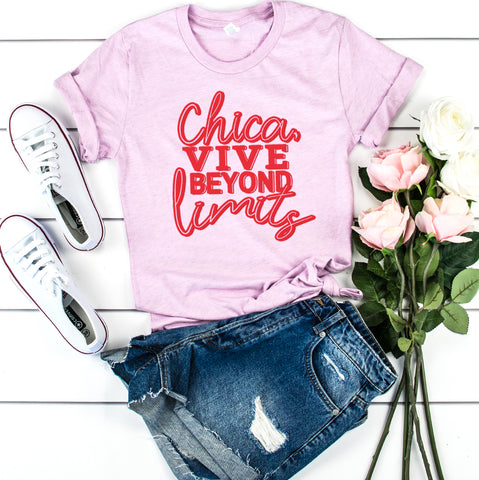 Chica, Vive | Women Empowerment Graphic Tees