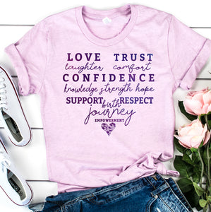 Birth Journey Empowerment | Women Empowerment Graphic Tee