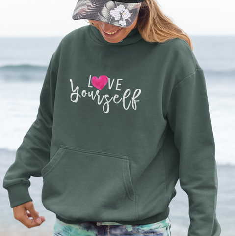 Love Yourself | Women Empowerment Graphic hoodie