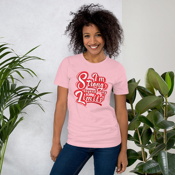 Strong Beyond my Limits | Women Empowerment Graphic Tee