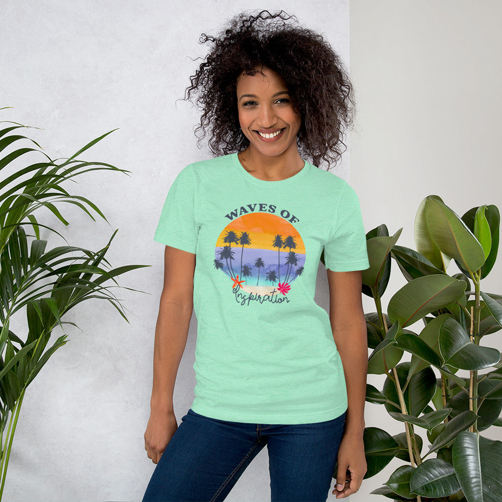 Waves of Inspiration | Women Empowerment Graphic Tshirt