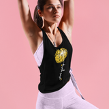 Never Give Up | Women Muscle Tank Top