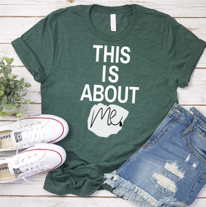 This is about ME | Women Empowerment Graphic Tee