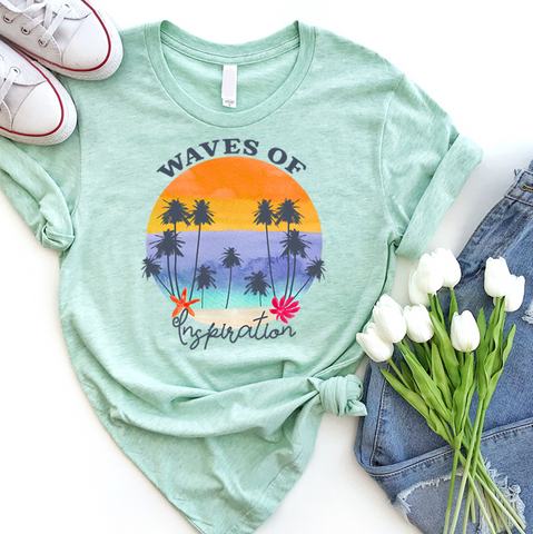 Waves of Inspiration | Women Tee