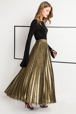 Gothic Pleated Skirt - Kaya chic