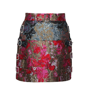 Sassy Stylish Mini Skirt - Kaya chic