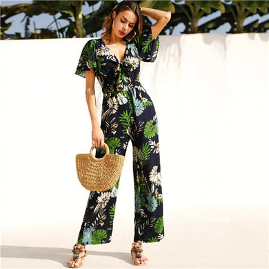 Sprung On Forest Jumpsuit - Kaya chic