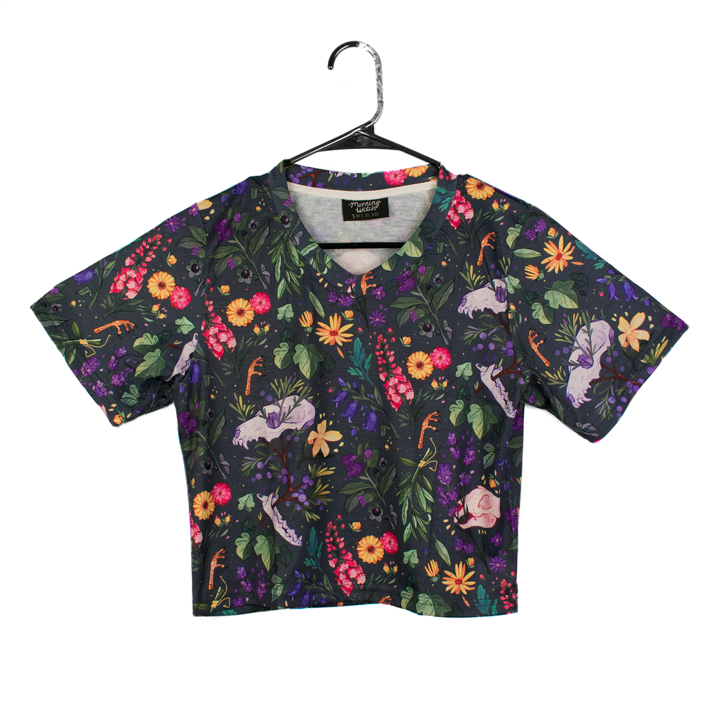 Witch's Garden Crop Top