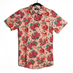 Pomegranate Bat Button Down Shirt [Limited Seasonal Item]