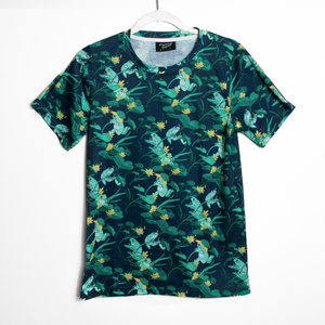 Frog & Snail Patterned T Shirt