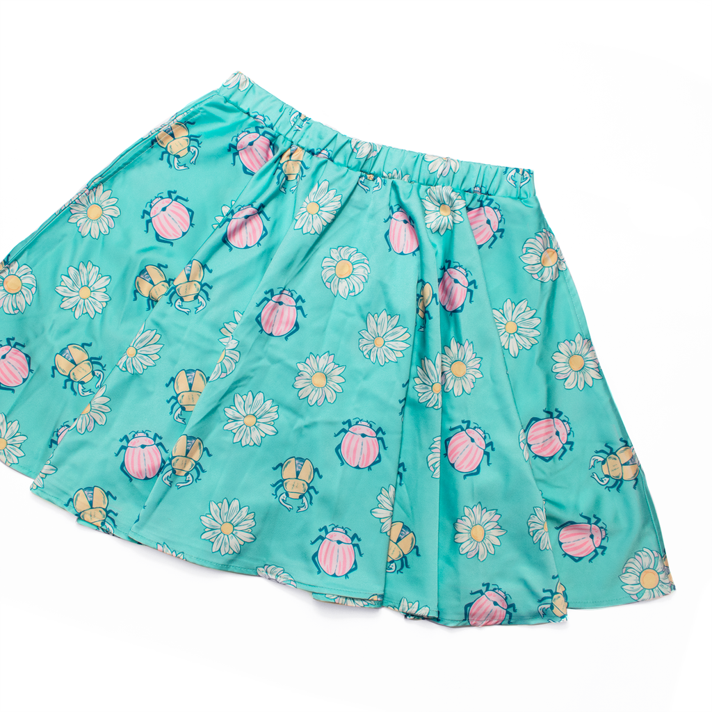 [PREORDER] Beetle + Daisy Mini Skirt