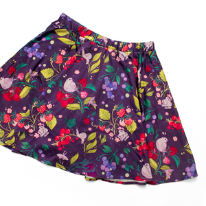 Secret Garden: Berry Critters Mini Skirt