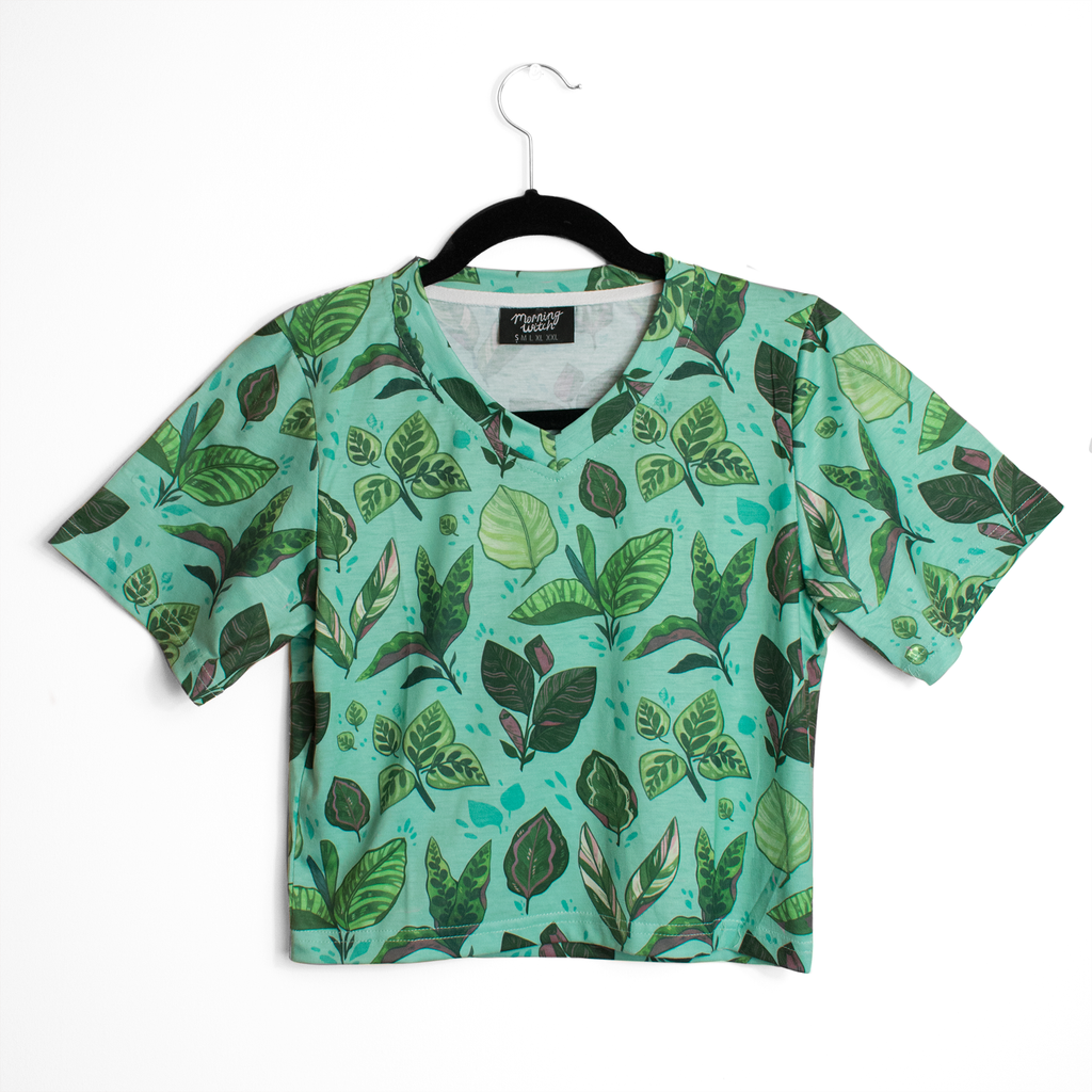 [PREORDER] Calathea Crop Top