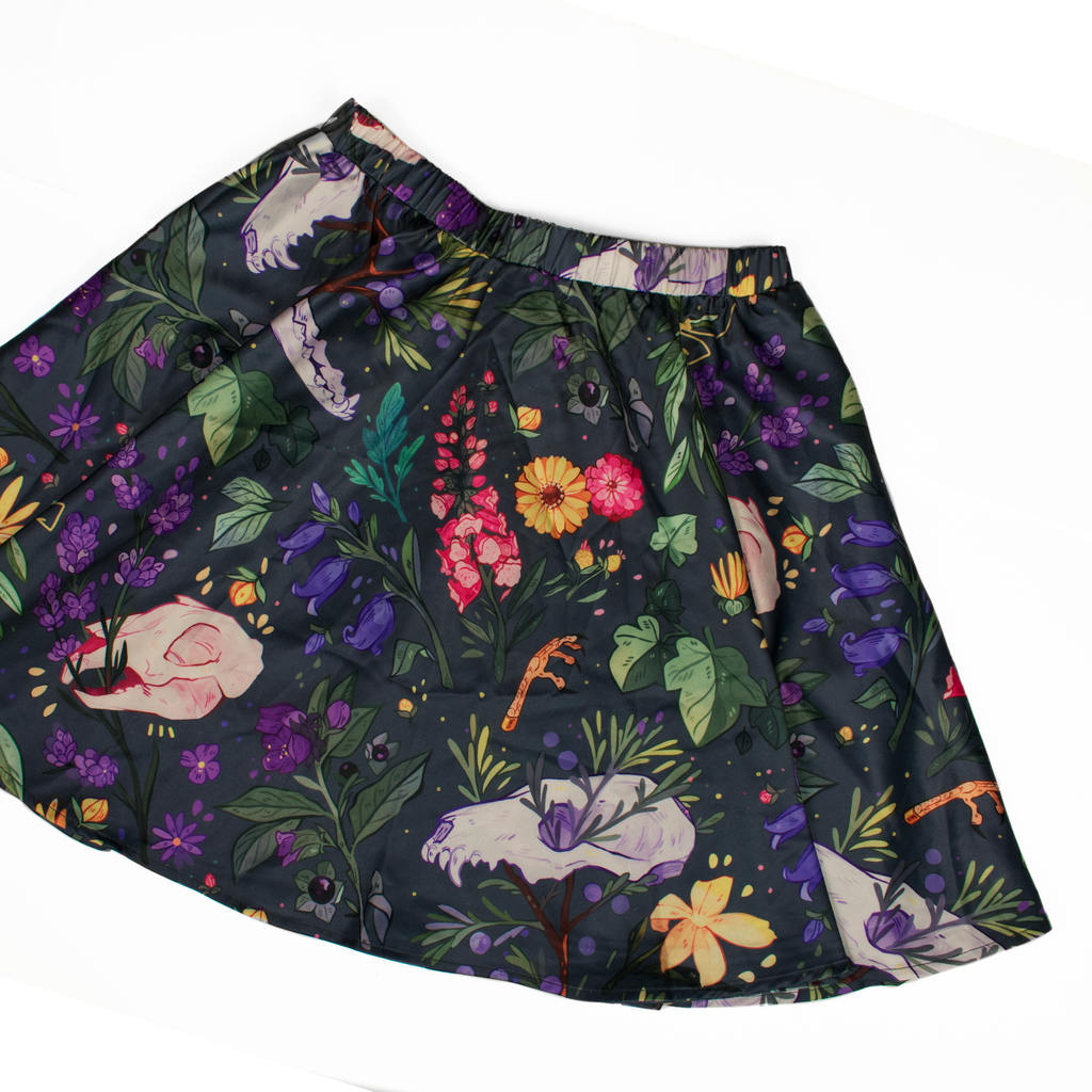Witch's Garden Mini Skirt