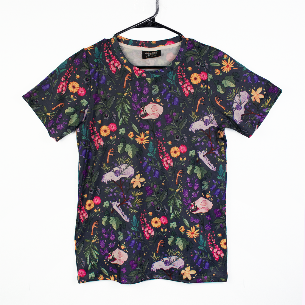 Witch's Garden Patterned T Shirt