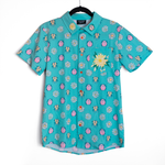 [PREORDER] Beetle + Daisy Embroidered Button Down Shirt