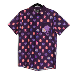 [PREORDER] Beetle + Violet Embroidered Button Down Shirt