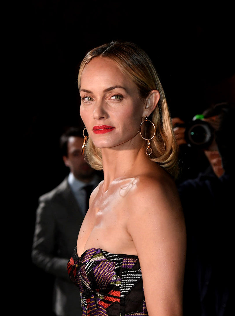AMBER VALLETTA WEARS THE CASSIO EARRINGS