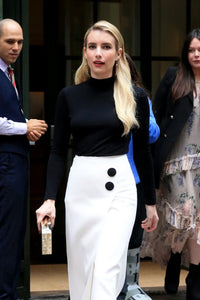 Emma Roberts wears OHara Drop Earrings