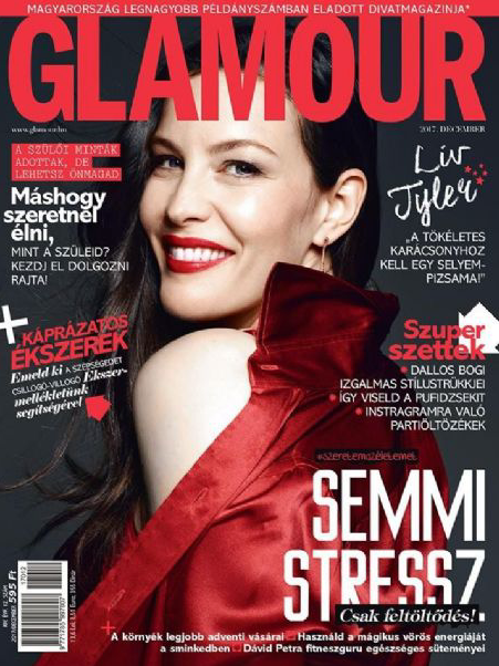 GLAMOUR HUNGARY FEATURES THE SFERA 4.0 HOOP EARRINGS