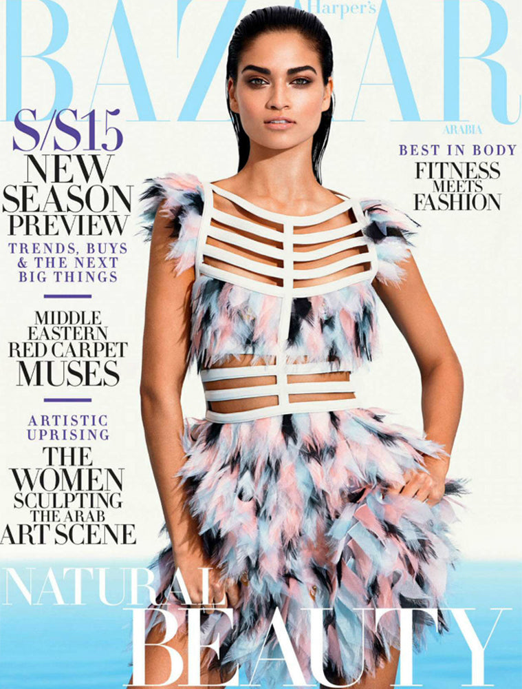 HARPER'S BAZAAR ARABIA - JANUARY 2015